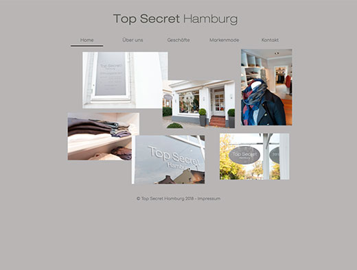 Top Secret Hamburg / Mode-Einzelhandel